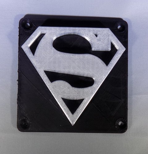 SUPERMAN LED Light/Nightlight 3D Print 32156