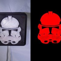 Small StormTrooper LED Light/Nightlight 3D Printing 32157