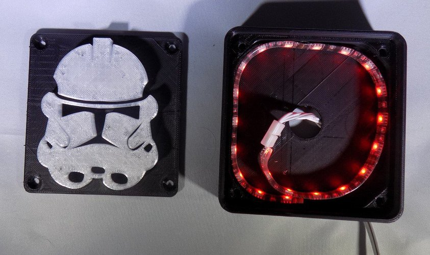StormTrooper LED Light/Nightlight 3D Print 32159