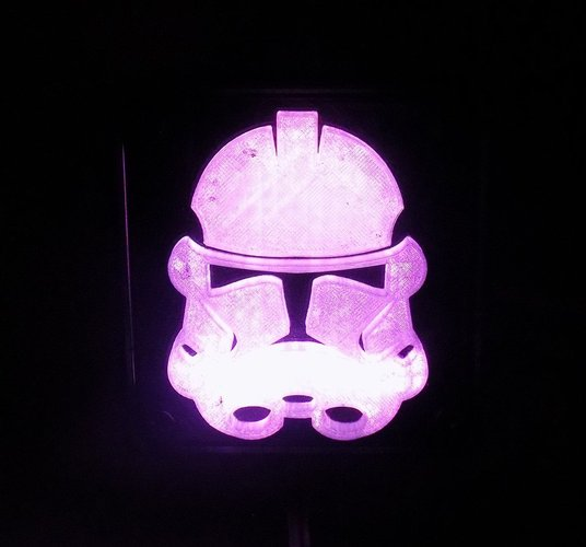 StormTrooper LED Light/Nightlight 3D Print 32160