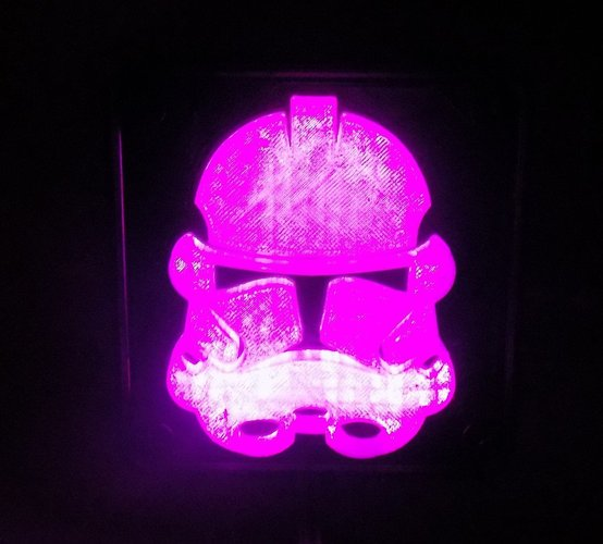 StormTrooper LED Light/Nightlight 3D Print 32161