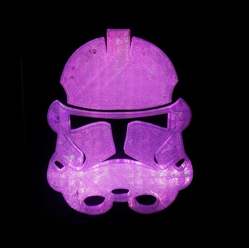 StormTrooper LED Light/Nightlight 3D Print 32162