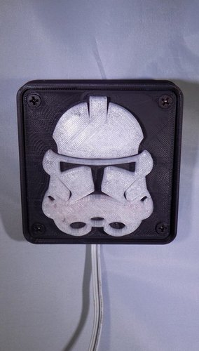 StormTrooper LED Light/Nightlight 3D Print 32165