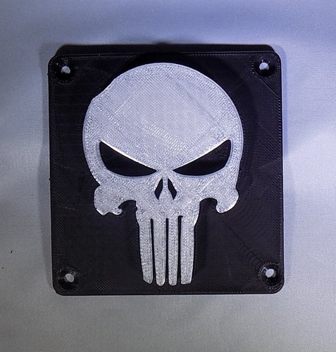 Punisher LED Light/Nightlight 3D Print 32171
