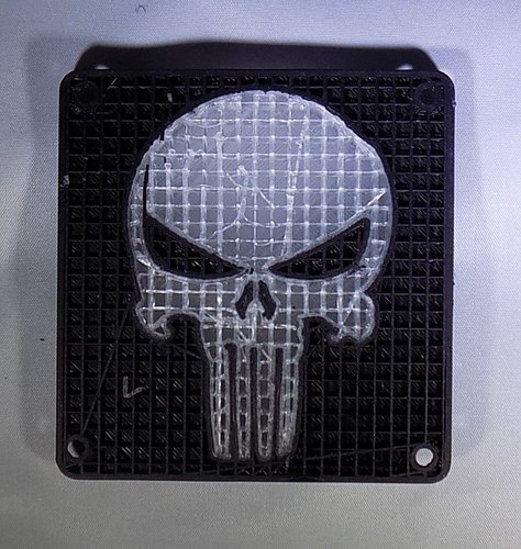 Punisher LED Light/Nightlight 3D Print 32173