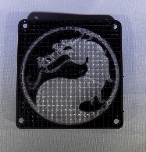 Mortal Kombat LED Light/NightLight 3D Print 32190