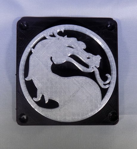 Mortal Kombat LED Light/NightLight 3D Print 32191
