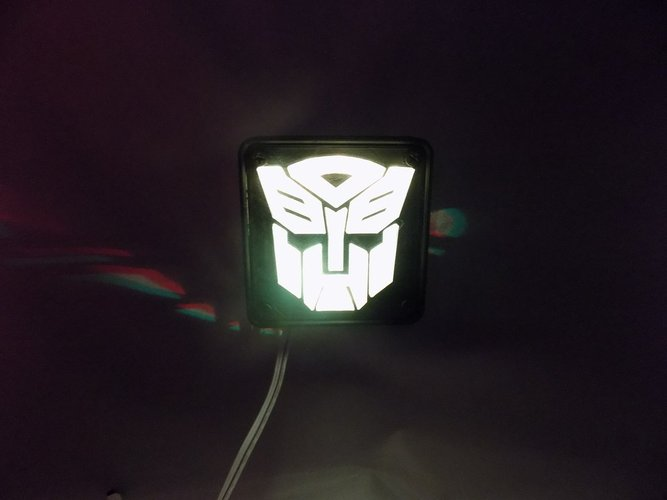 Autobot Transformers LED Nightlight/Lamp 3D Print 32212