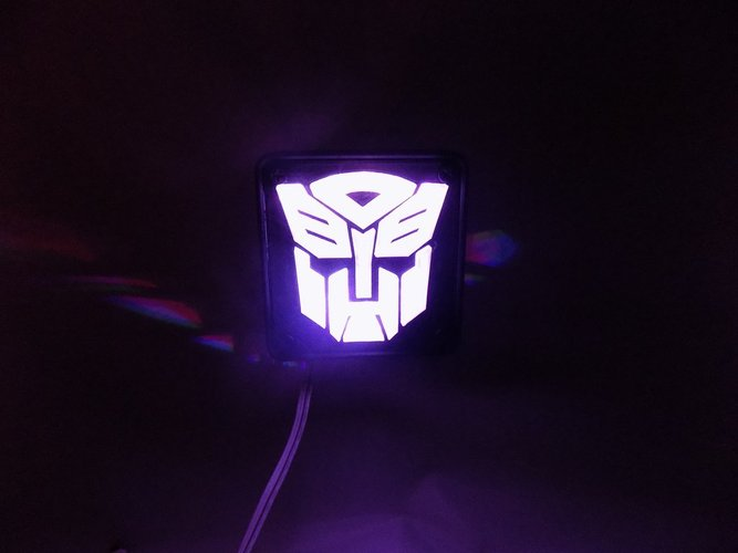 Autobot Transformers LED Nightlight/Lamp 3D Print 32214