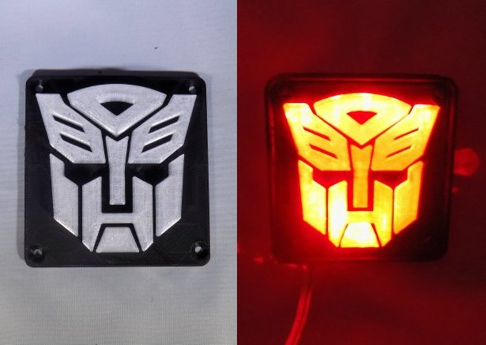 Autobot Transformers LED Nightlight/Lamp 3D Print 32216