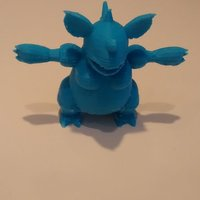 Small Nidoqueen 3D Printing 32339