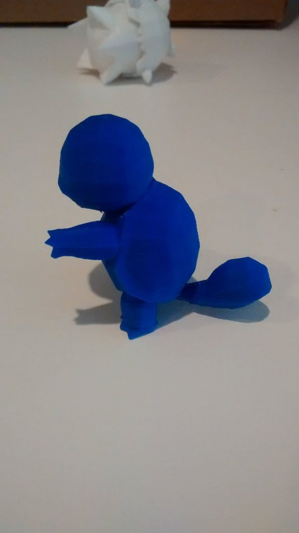 Medium High-Poly Squirtle 3D Printing 32344
