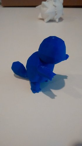 High-Poly Squirtle 3D Print 32345