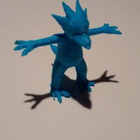 Small Golduck 3D Printing 32356