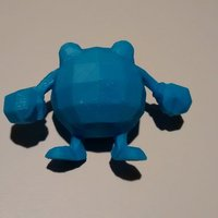 Small Poliwhirl 3D Printing 32357