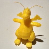 Small Dragonite 3D Printing 32373