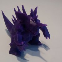 Small Nidoking 3D Printing 32377