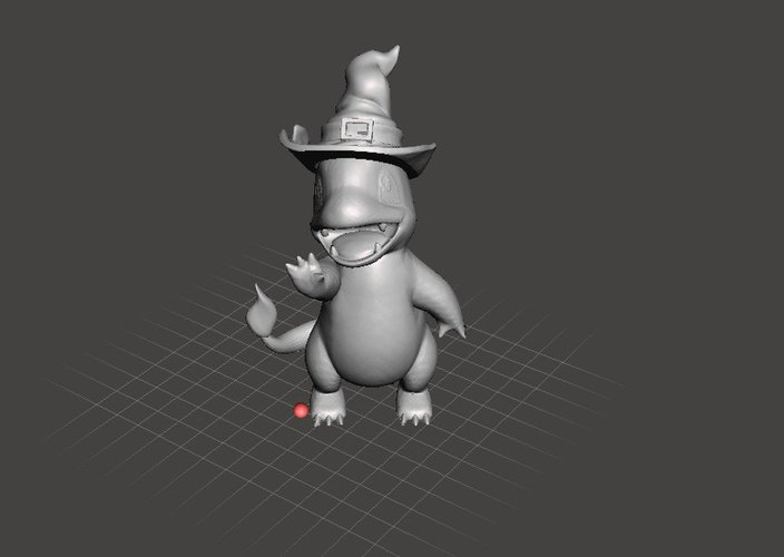 Witchy Charmander 3D Print 32382