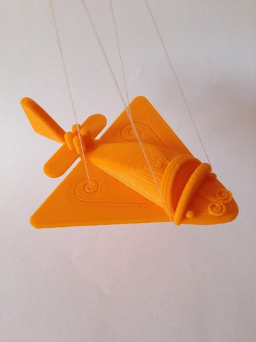 Ancient Flying Machines 3D Print 32395