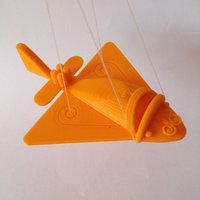 Small Ancient Flying Machines 3D Printing 32395