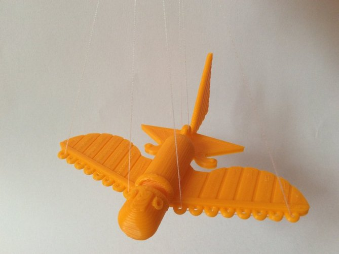 Ancient Flying Machines 3D Print 32397