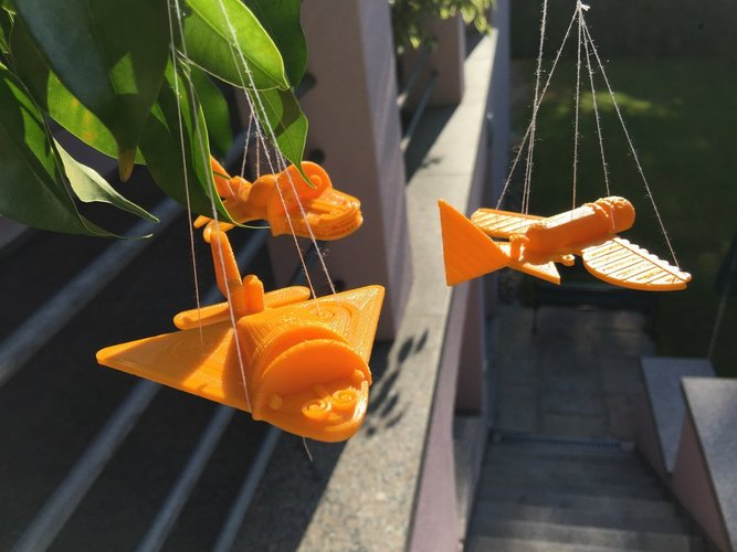 Ancient Flying Machines 3D Print 32399