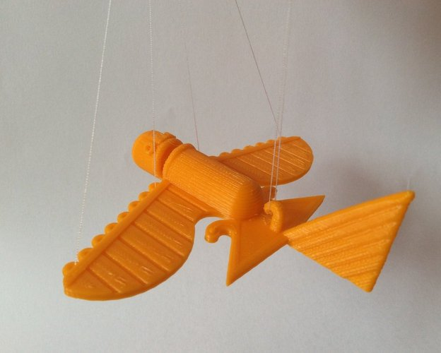 Ancient Flying Machines 3D Print 32401