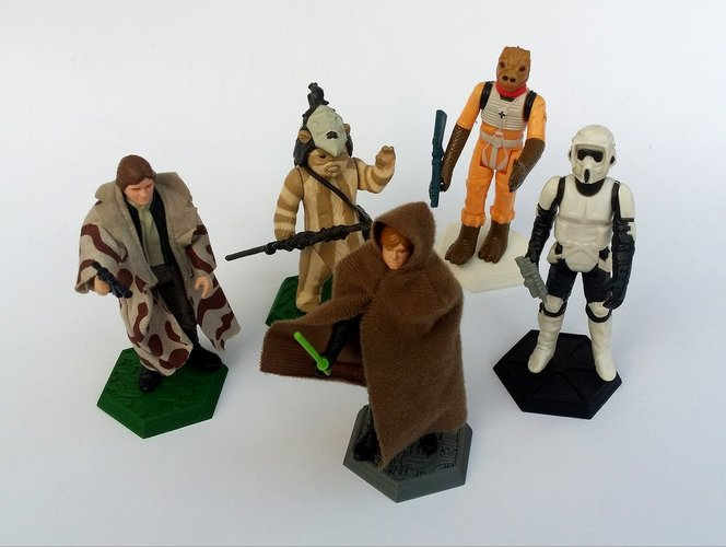 picture relating to 3d Printable Figures identify 3D Posted Company for Star Wars Kenner free studies by means of
