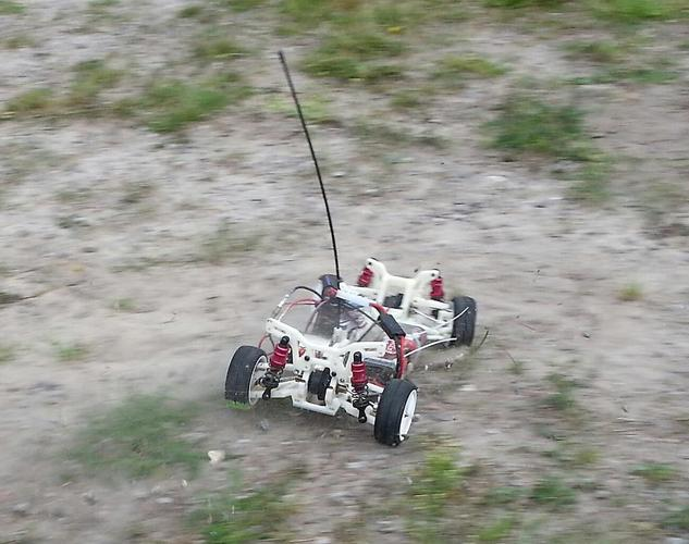 OpenRC 1:10 4WD Touring Concept RC Car 3D Print 32618