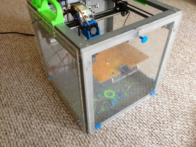 Solidoodle 3 Heated Chamber Parts 3D Print 32687