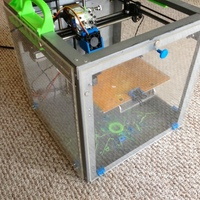 Small Solidoodle 3 Heated Chamber Parts 3D Printing 32687