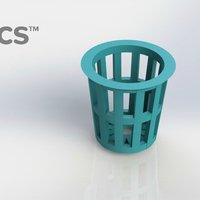 Small Planter - 3Dponics Snap & Grow Garden (1) 3D Printing 32783