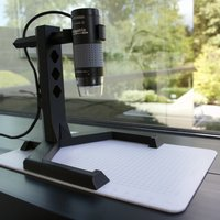 Small Adjustable Stand for USB Microscope 3D Printing 32886
