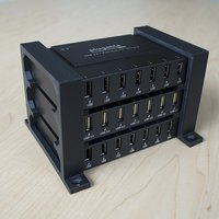 Small Bracket for Plugable 7 Port USB Hub 3D Printing 32898