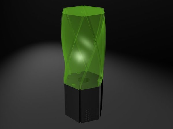 Medium Crystal Lamp 3D Printing 32911