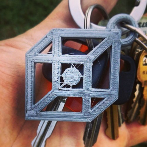 PRINT THAT THING - Logo Keychain 3D Print 32928