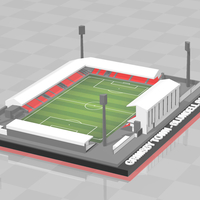 Small Grimsby Town - Blundell Park 3D Printing 329837