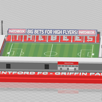 Small Brentford FC - Griffin Park 3D Printing 329848