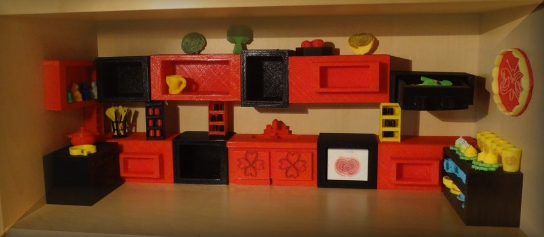 3D printed Kitchen project (1) 3D Print 32989