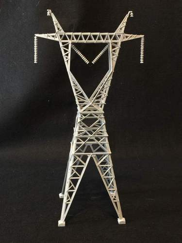 Transmission Tower 3D Print 32996