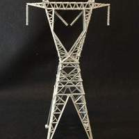 Small Transmission Tower 3D Printing 32996