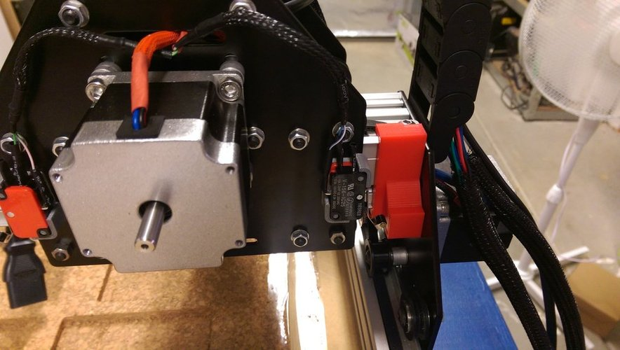 Shapeoko 2 Endstop Buffers 3D Print 33025