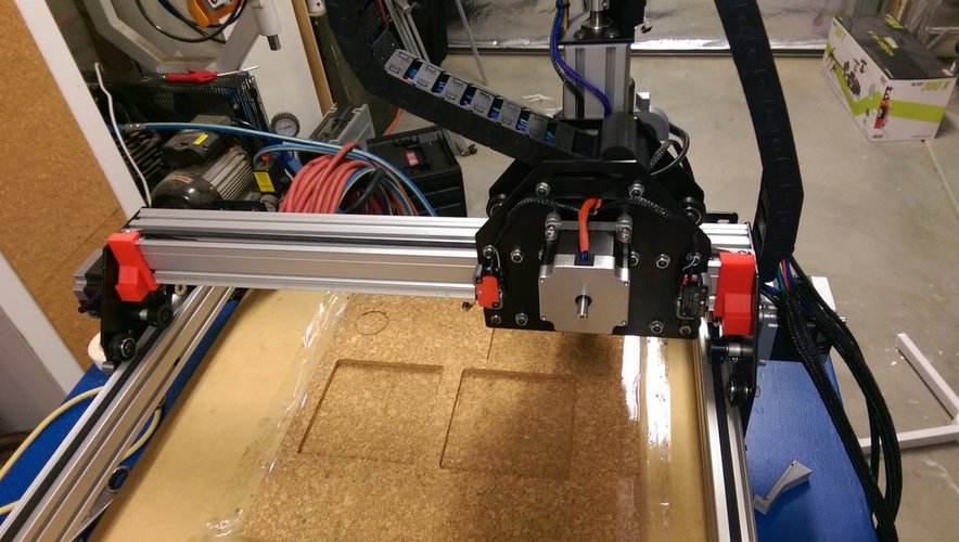 Shapeoko 2 Endstop Buffers 3D Print 33026