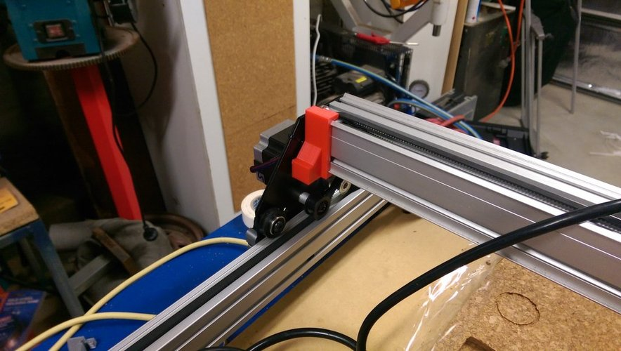 Shapeoko 2 Endstop Buffers 3D Print 33027