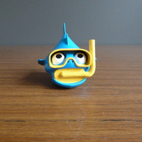 Small Snorkel Fish by LeHof 3D Printing 3313