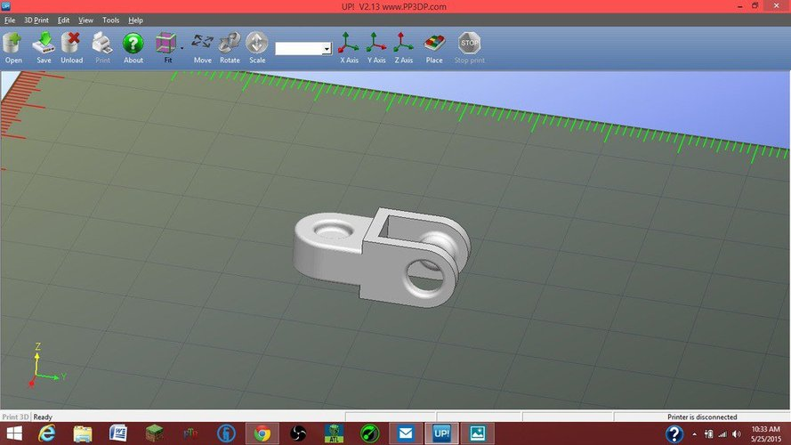 Chain Desk Toy 3D Print 33205