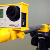 Small Zheng's GoPro Gubbinses 3D Printing 33212