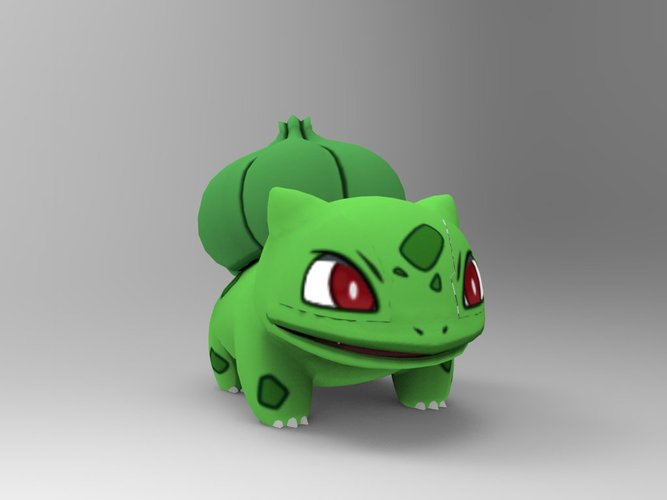 Bulbasaur-Pocket Monsters 3D Print 33228