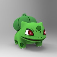 Small Bulbasaur-Pocket Monsters 3D Printing 33228