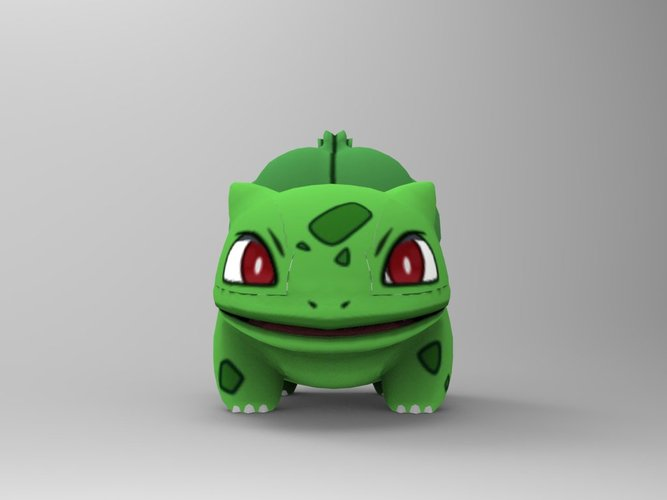 Bulbasaur-Pocket Monsters 3D Print 33229